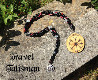 Vegvisir Talisman - Icelandic magical Stave from MoonsCrafts )0(