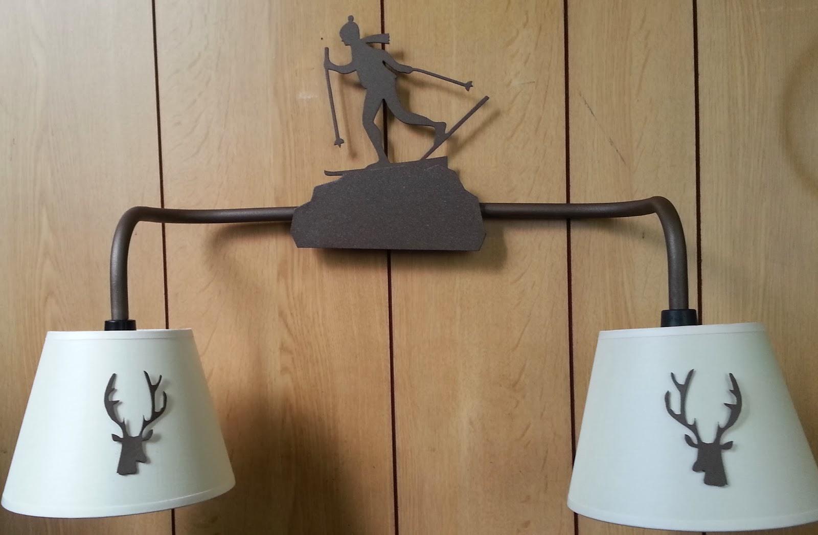 Applique da montagna lampadari rustici da montagna inspirational
