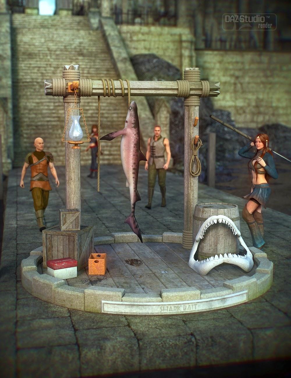 Shark Bait stand