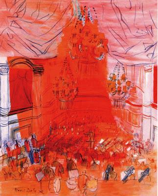 Raoul Dufy - l''orchestre rouge (1940)