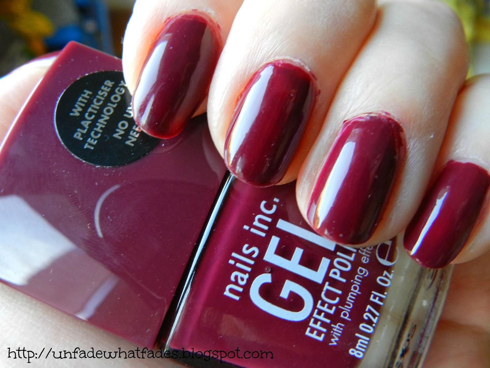 Unfade what fades: Nails Inc gel effect polish in Kensington High ...
