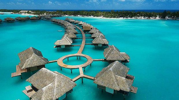 5ª  Four Seasons Resort, Bora Bora, Polinésia Francesa