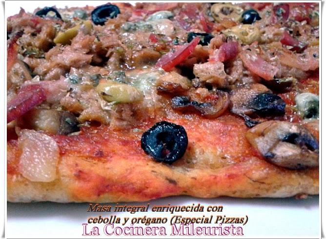 Masa Integral Enriquecida Con Cebolla Y Orégano (especial Pizzas)