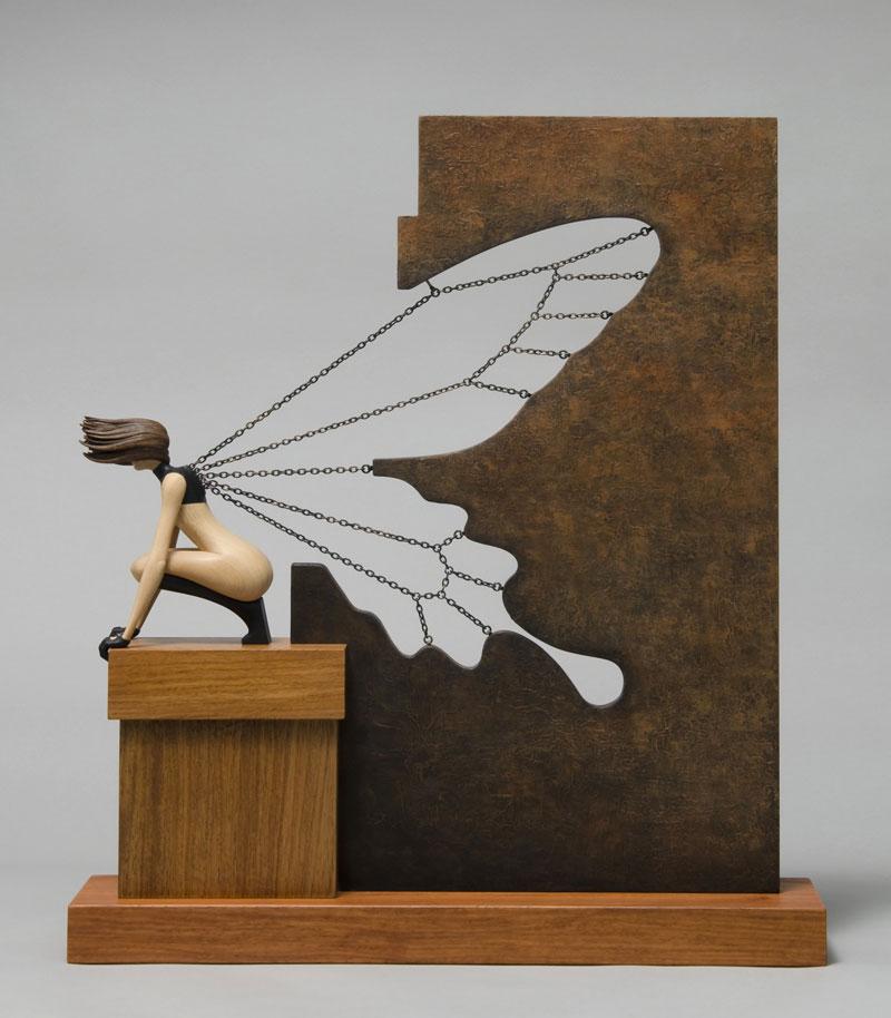 sale retailer 20406 5bfa2 Surreal Wood Sculptures by John Morris