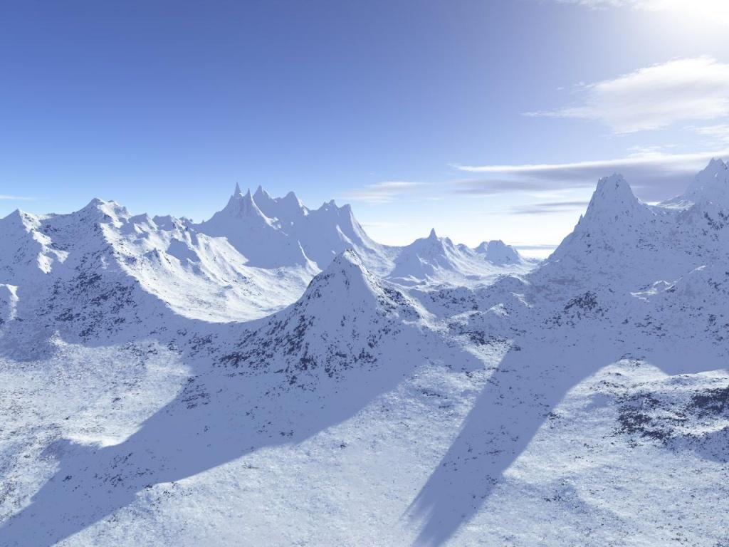 Paisajes de ensue o paisajes de invierno for Fond ecran montagne
