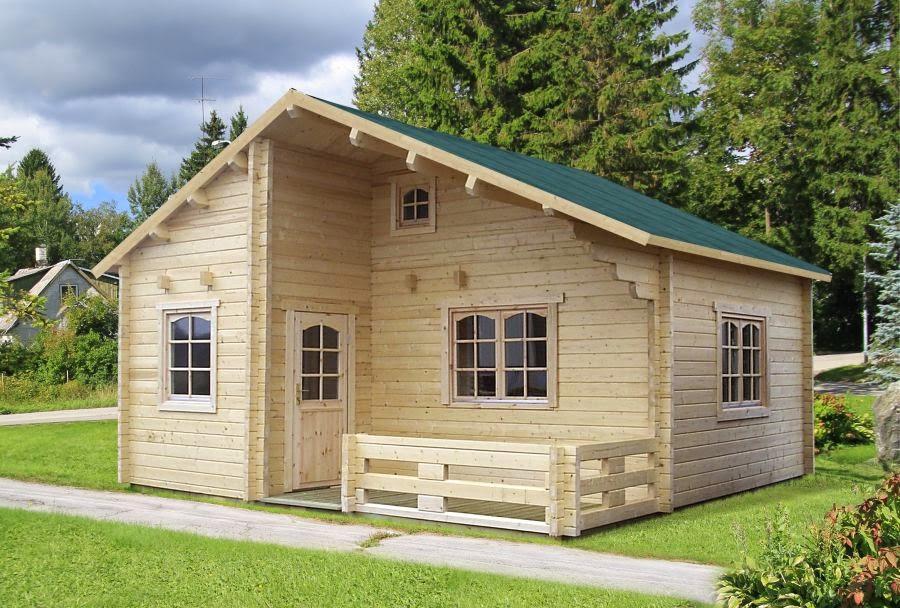 Casas de madera baratas for Casetas jardin baratas