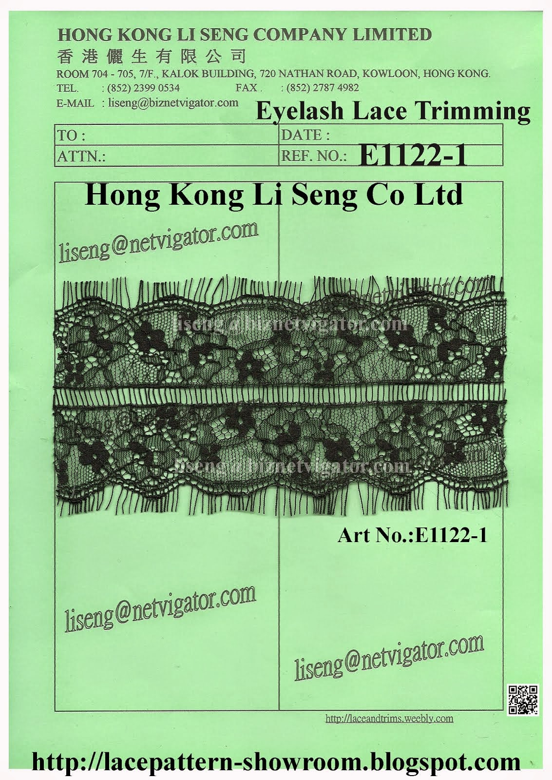 New Eyelash Lace Trimming Manufacturer Wholesale and Supplier - Hong Kong Li Seng Co Ltd