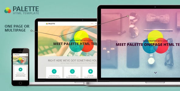Responsive Parallax HTML Template