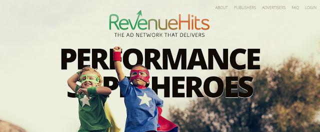 الربح 300$ شهريا من RevenueHits افضل بديل لجوجل ادسنس
