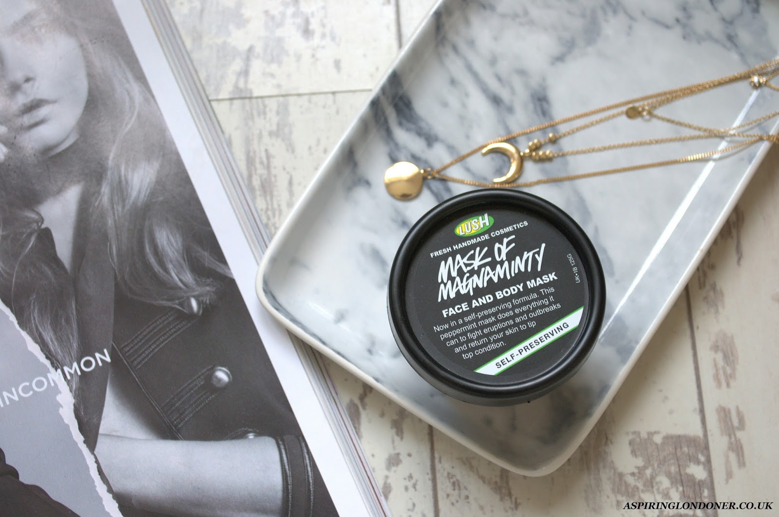 Lush Mask of Magnaminty Face Mask Review - Aspiring Londoner