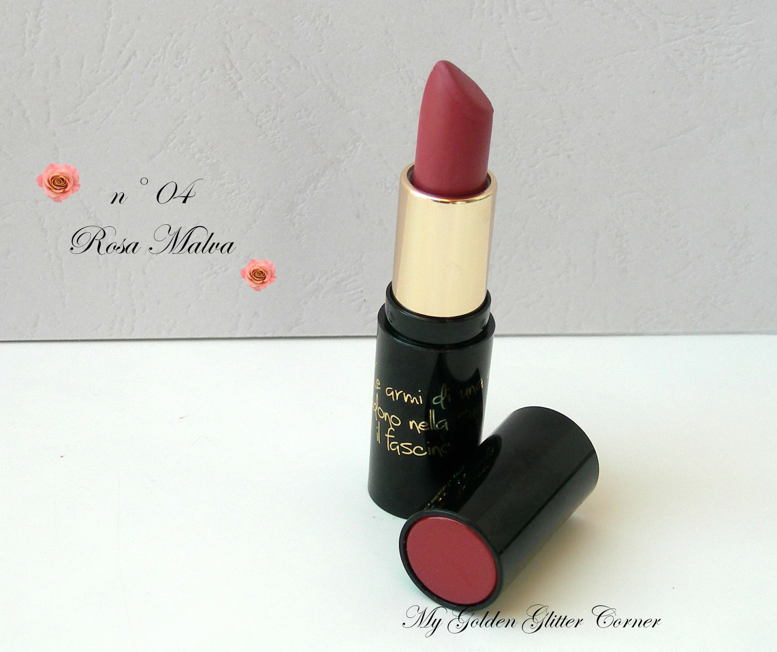Top My Golden Glitter Corner: WJCON *DOLCE VITA* Lipstick Matt Vibe n  SA99