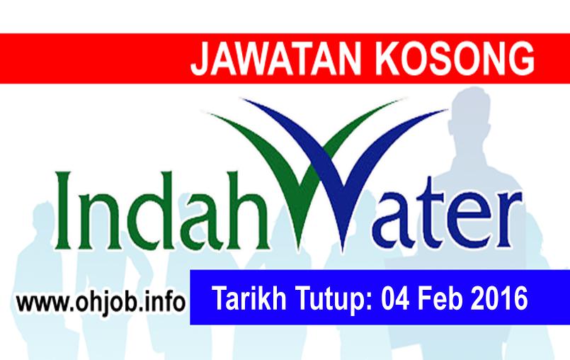 Jawatan Kerja Kosong Indah Water Konsortium (IWK) logo www.ohjob.info februari 2016