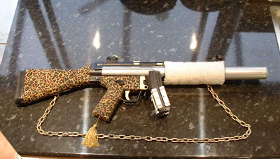 pimp my weapon fury animal print assault rifle picture