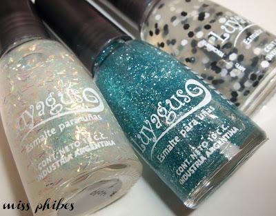 esmaltes glitters