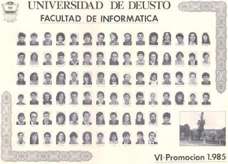 Promoción Informática Deusto 1985