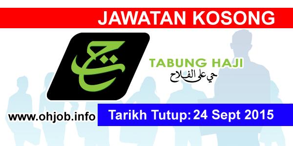 Jawatan Kerja Kosong Lembaga Tabung Haji (TH) logo www.ohjob.info september 2015