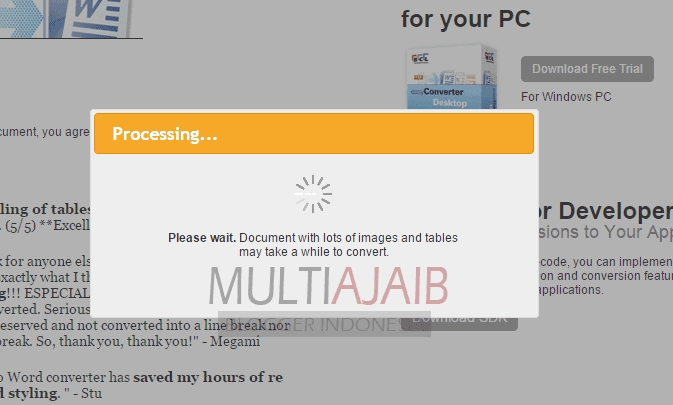 Cara Merubah File Pdf Ke Word Via Online