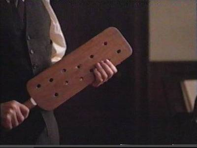 My Ntcc: Taylor was Arrested for Spanking Someone Else's Child.  Ntcc Bailed him out and later he was Bragging about using a Paddle like this.