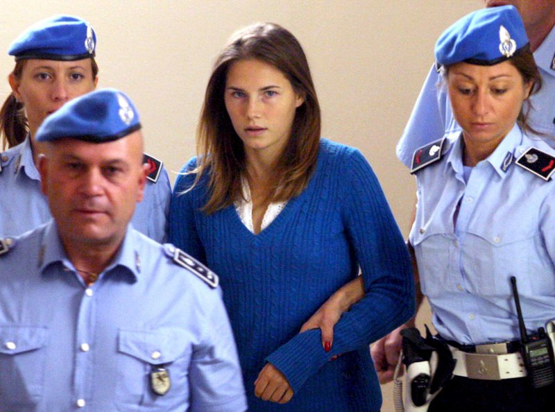 amanda knox hot. dresses ​When Amanda Knox was