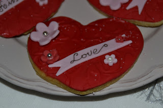 Alla hjärtans dag kakor