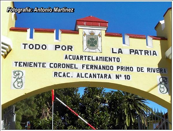 ... Regimiento de Cazadores de Alcántara, 14 de Caballería», «Annual