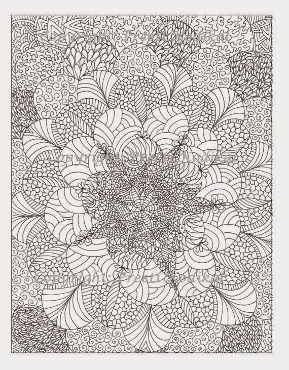 free hard abstract coloring pages