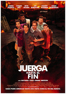 Juerga hasta el fin (This Is the End) Poster