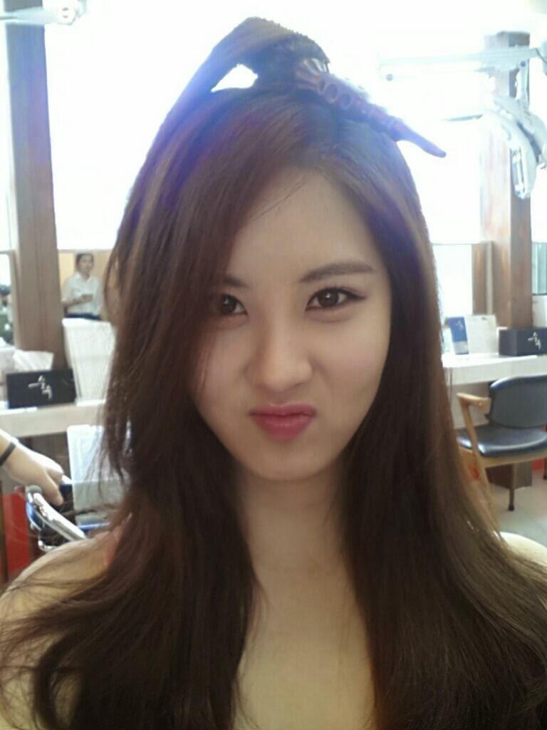 SNSD Seohyun long hair