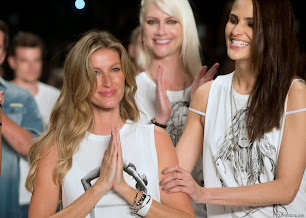Gisele Bündchen, se despidió de las pasarelas en San Pablo Fashion Week. 15 de abril de 2015