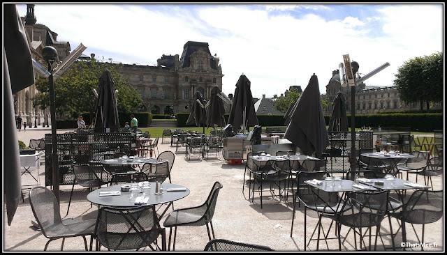 bar restaurant Saut Du Loup Musée Des Arts Décoratifs Louvre Paris  terrasse Tuileries