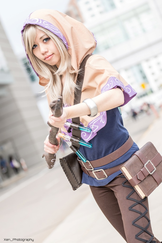 Spellthief Lux Hood Tutorial My Cute Bow Cosplayer