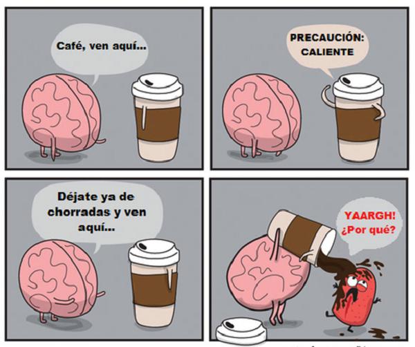 Café, ven aquí…