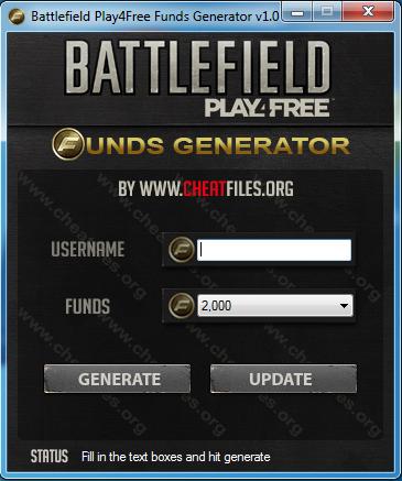 B Battlefield/b Play4Free/b Funds Generator.