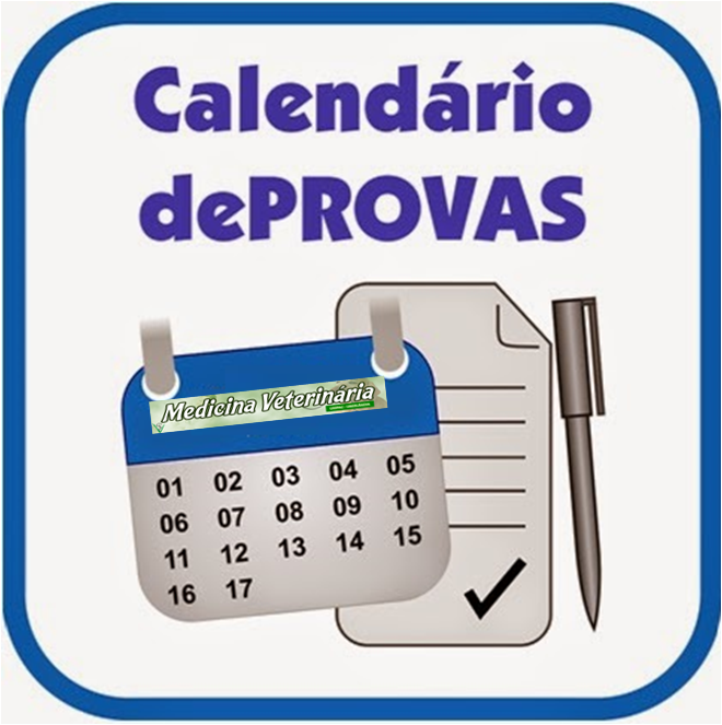 Calendário de Provas 2018/1