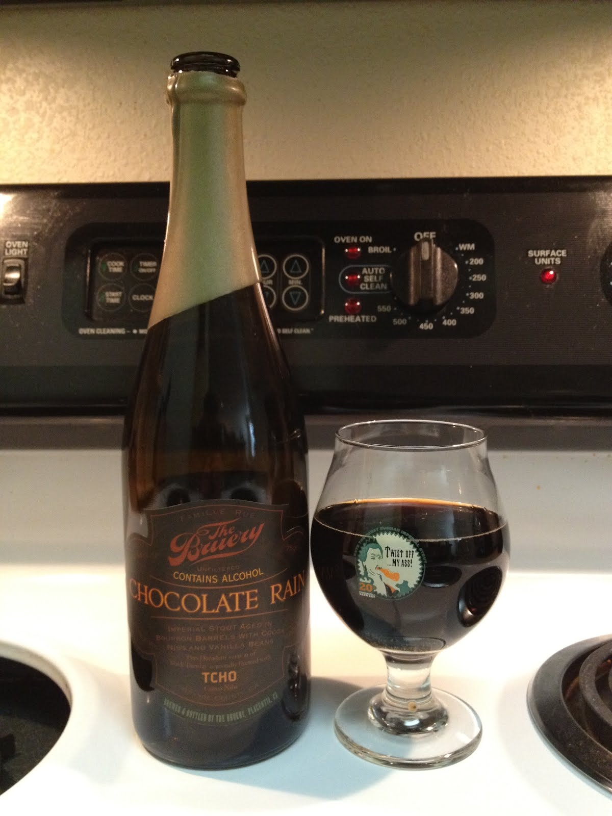 SaBEERmetrics: Beer Review: Chocolate Rain (2012, fresh)