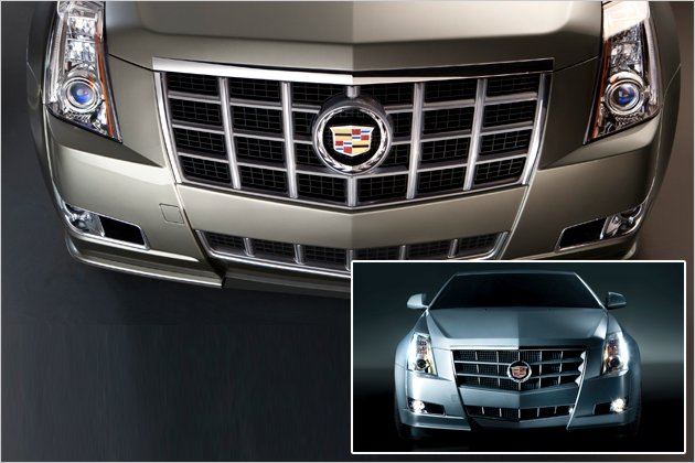 2012 Cadillac CTS new grille photos