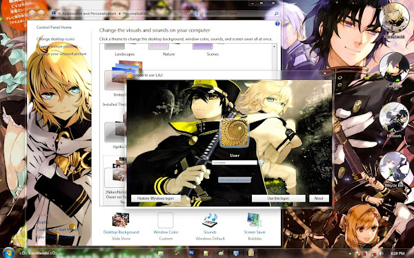 / Theme Windows 7 / Owari no Seraph 5