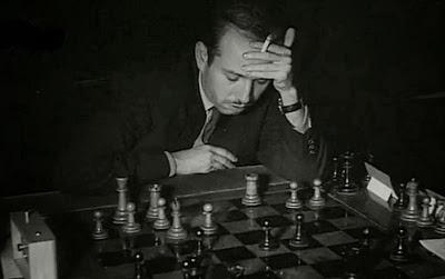Partida Arturo Pomar vs. Román Torán en el II Torneo Internacional de Ajedrez Madrid 1957