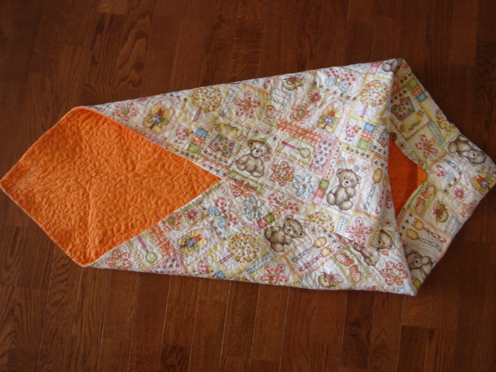 how to make a baby blanket with batting