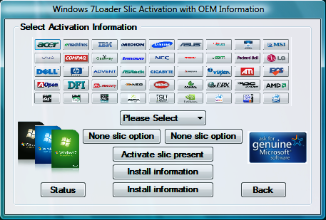 Windows 7 Activator software all