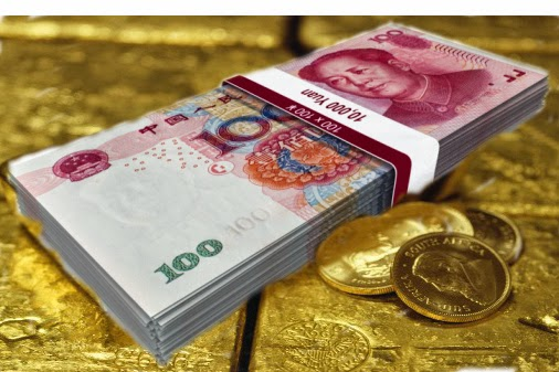 Sliding Chinese currency takes blame for gold price weakness