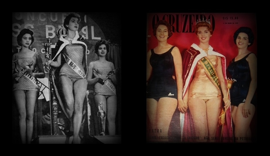 MISS UNIVERSO BRASIL TOP TRES 1958 E 1959