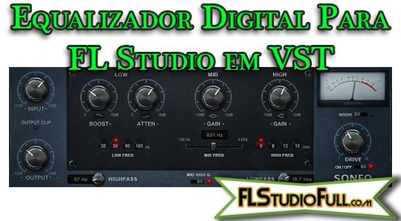 Plugin Equalizador Digital Para FL Studio em VST