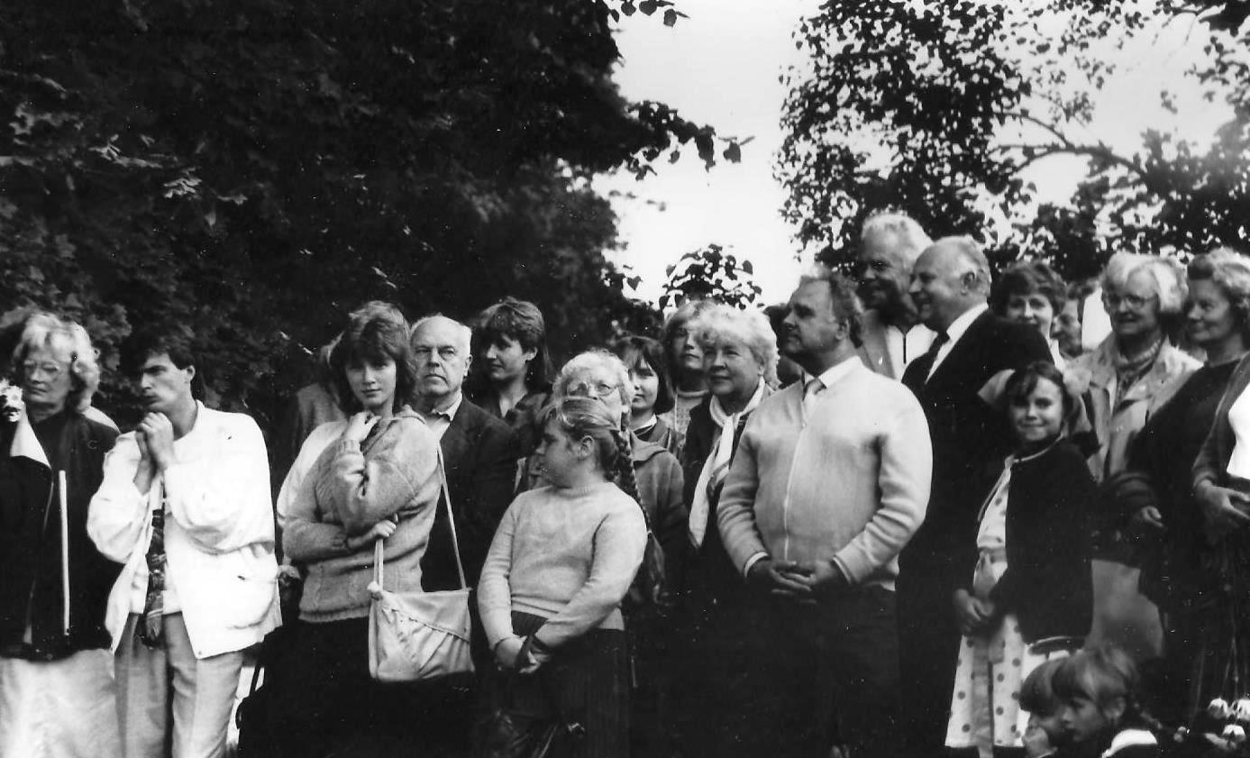 Alfrēda Amtmaņa-Briedīša muzejā 1987. gada 5. augustā - 2