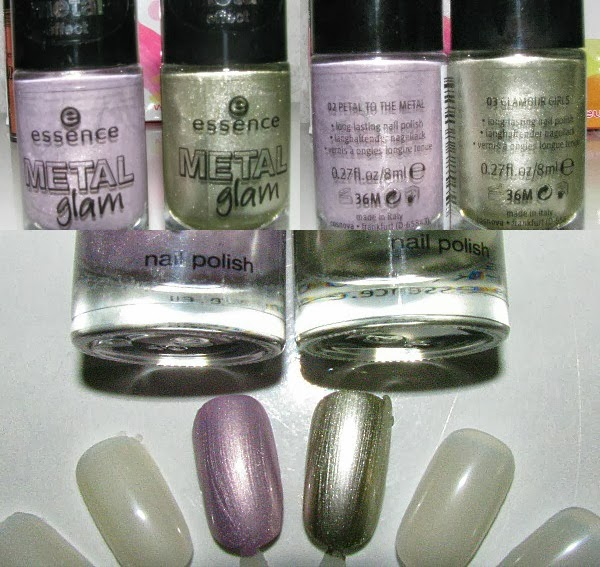 essence Metall Glam Nail Polishes - Reviews, Fotos, Swatches