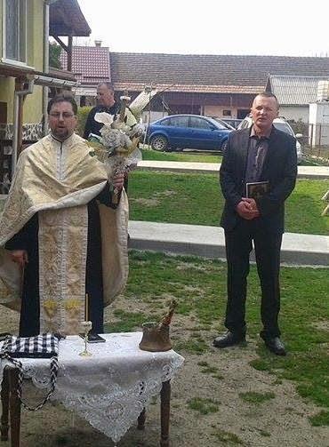 Slujba aghiasmei celei mici în a doua zi de Paşte, 13 aprilie 2015