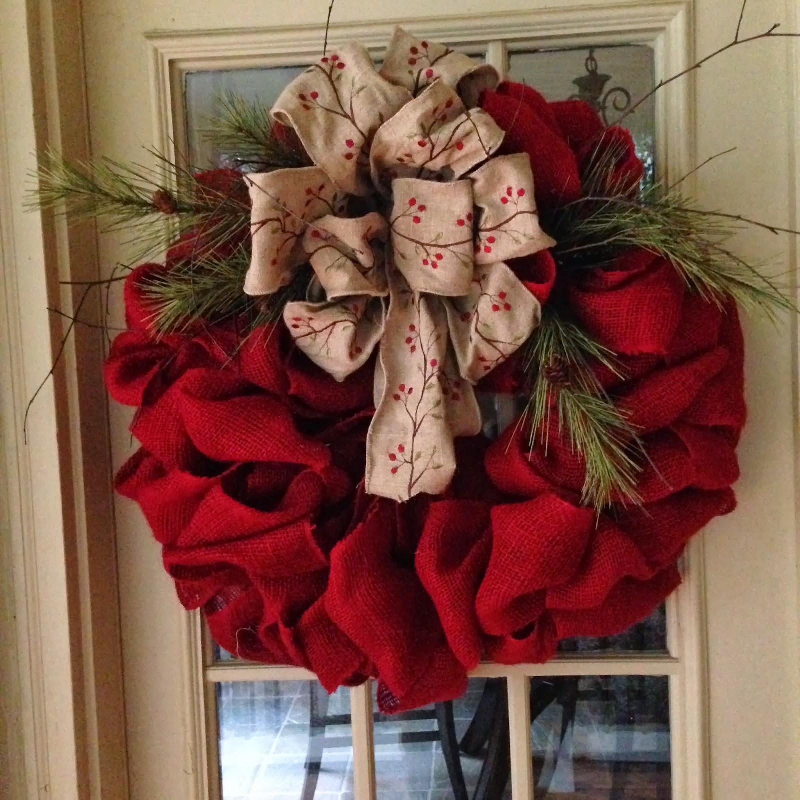Front Door On Pinterest Wreaths Burlap Wreaths And