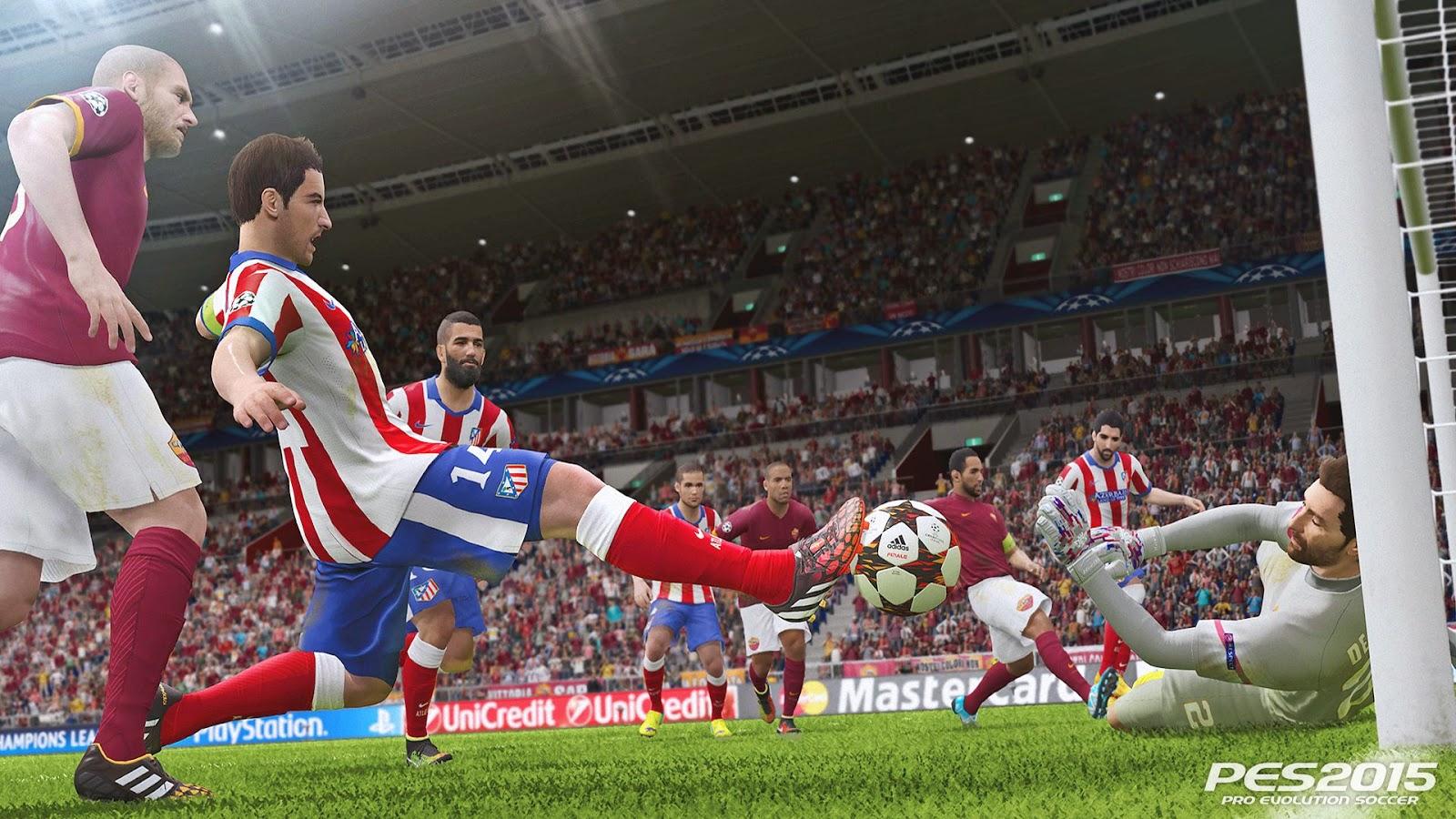 Pro Evolution Soccer 2015 + upadate patch v1.02 & v2.0 - PC [Free]