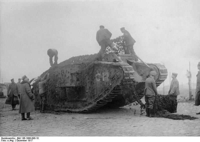 adictos a la historia los tanques en la primera guerra mundial. Black Bedroom Furniture Sets. Home Design Ideas