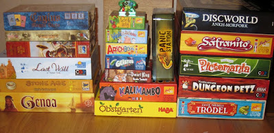 The Games brought back from Essen 2011 + 1